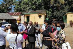 Arrivée des machines de Zara Iombonana à Manakara